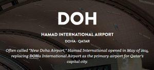 Doha IATA Code